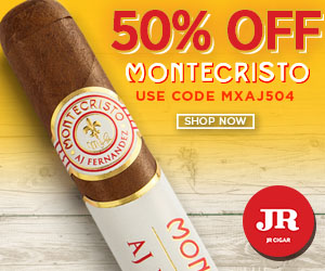 JR Cigars coupons and coupon codes
