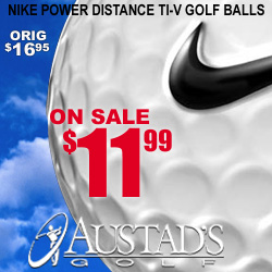 Nike Power Distance TI-V Golf Ball at Austad's
