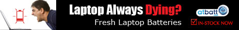 Find batteries and chargers for all laptop brands.