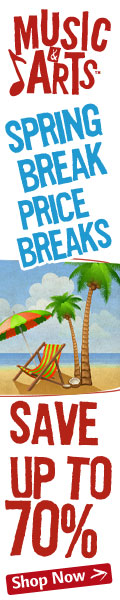 Spring Break Price Breaks Sale at MusicArts.com!