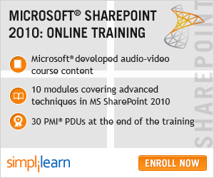 Microsoft SharePoint 2010 Online Course
