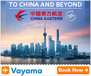 Vayama - China Eastern Airlines: Great flight deals to China and beyond!
