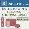 Enter to win a $2,500.00 Shopping Spree