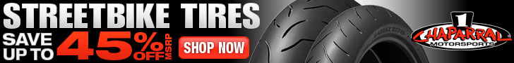 Save up to 45% 0ff MSRP On Streetbike Tires