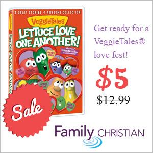 VeggieTales Lettuce Love One Another DVD ON SALE