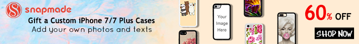 Snapmade 2017 iPhone 7 Cases 60% OFF - 728*90