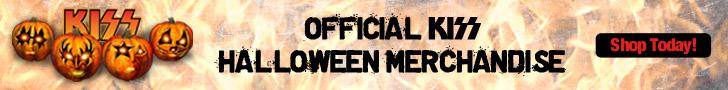 KISS - Halloween Merch 728x90