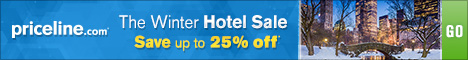 Winter Hotel Sale. Save up to 25% off Thousands of Hotels. Book before 12/17/14 and travel before 2/28/15.