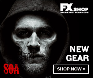 Shop Sons of Anarchy merchandise Now at the FX Shop!