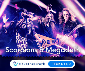 Scorpions & Megadeath Tickets