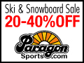 20-40% Off Ski & Snowboard Sale at Paragon Sports