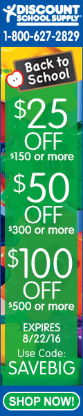 BACK TO SCHOOL BUY MORE, SAVE MORE SALE - $25 Off $150+, $50 Off $300+, & $100 Off $500+!