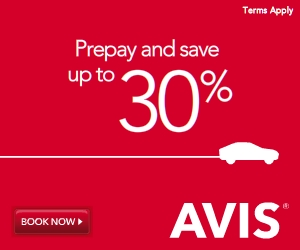 Avis Rent A Car Coupon