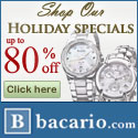Save up to 80% Off Our Holiday Specials, Watches
