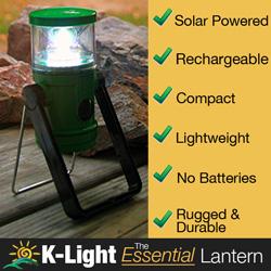 KLight Solar Lantern
