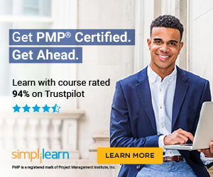 300x250 PMP Certification Training Course - Trustpilot