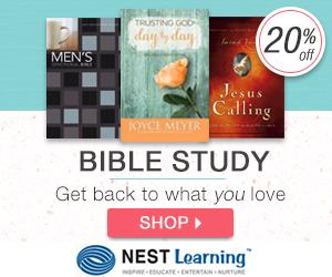 Bible Study Sale