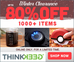 ThinkGeek Winter Clearance
