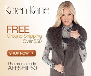 Free Shipping at KarenKane.com