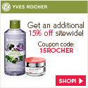 Yves Rocher Coupon: Up to 45% Sitewide + Free Gift On All Order