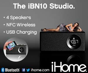 300x250Static iBN10 Bluetooth Stereo Executive Music Station