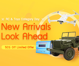 Image for 50% OFF for RC & Toys Category Day