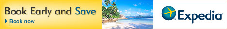 Expedia - Book early and save!