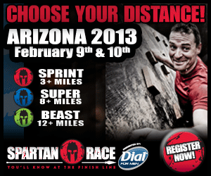 Choose Your Distance! Spartan Race - Arizona 2013 February 9th & 10th, Sign Up Now!