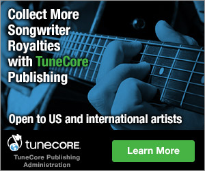 TuneCore Publishing