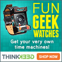 New ThinkGeek Watches
