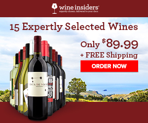 15 Expertly Selected Wines for Only $89.99 including Free Shipping.