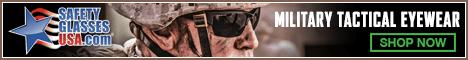 Military Eyewear Banner 468x60