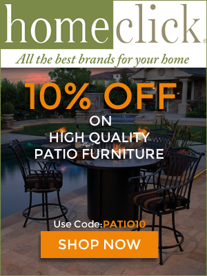 Homeclick.com Save 10% OFF on High Quality Patio Furniture