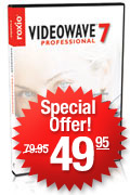 Buy VideoWave 7 Professional at Roxio.com