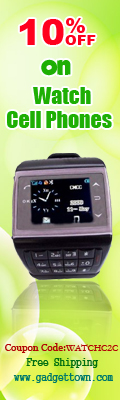 10% off on Watch Cell Phones at GadgetTown.com