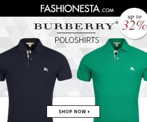 Burberry polos at Fashionesta