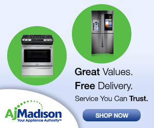 No Interest Financing on Major Appliances at AJMadison.com!