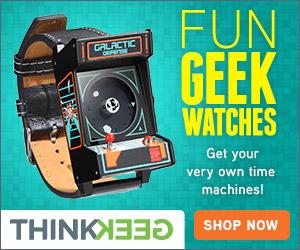 New ThinkGeek Watches