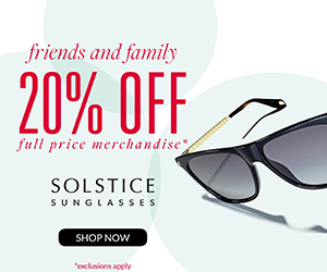 Solstice 20% Off Full Price 300x250