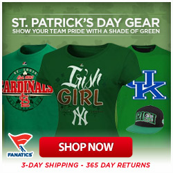 Shop for officially licensed St Patrick's Day Gear