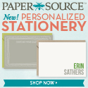 New! Personalized Stationery
