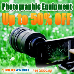 50% off Photographic Equipments