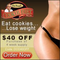 $40 OFF 4 Week Supply CookieDiet.com CODE:DOD40OFF