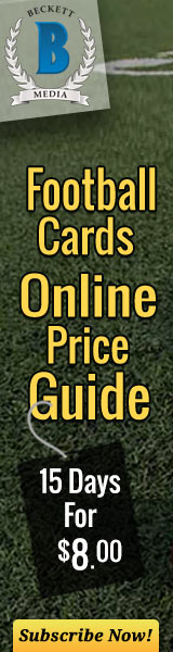 Football Cards Price Guide