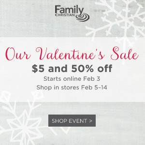 $5 & 50% Off Valentine's Day Sale