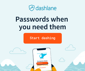 Dashlane -  Remember Password