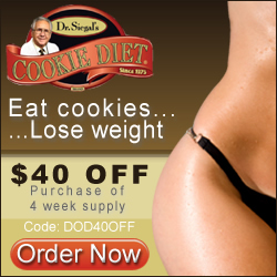 $40 OFF 4 Week Supply CookieDiet.com CODE:DOD40OFF - It Works!