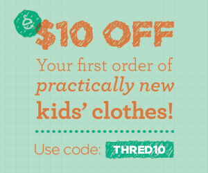 Get $10 off! Use code: THRED10