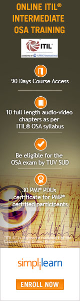 ITIL Intermediate OSA Training