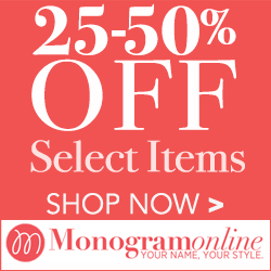 25-50% off on select items